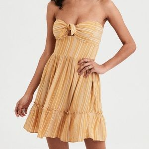 AE TIE FRONT BABYDOLL DRESS